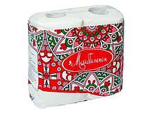 """Полотенца бумажные Маолин """"Махабатпен"""" 3-х слойные, 2 рулона в упаковке"""
