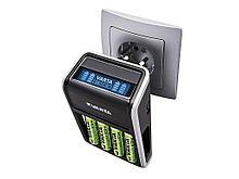 Зарядное устройство VARTA LCD Charger + 4 аккумулятора АА 2100 mAh