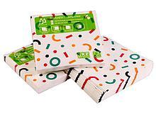 """Салфетки Маолин """"Геометрия"""" для сервировки, 3-слойные, 20 штук в упаковке"""