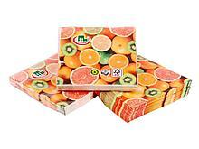 """Салфетки Маолин  """"Фрукты"""" для сервировки, 3-слойные, 20 штук в упаковке"""