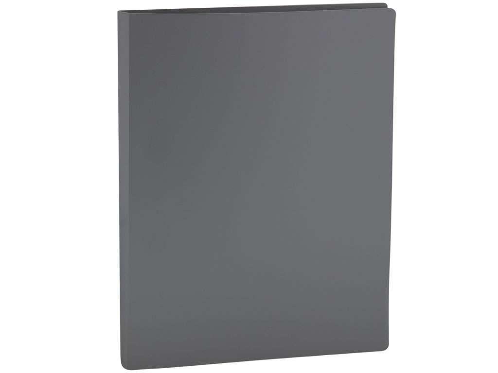 Папка с зажимом OfficeSpace, A4, 15 мм, 500 мкм, серая