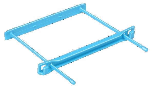 Механизм для скоросшивателя, пластиковый, синий