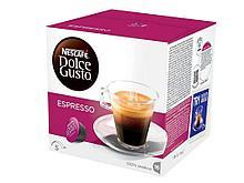 Капсулы для кофемашин Nescafe Dolce Gusto Эспрессо, 16 штук в упаковке