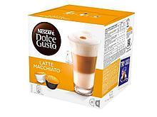 Капсулы для кофемашин Nescafe Dolce Gusto Латте Маккиато, 16 штук в упаковке