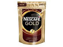 Кофе растворимый Nescafe Gold 250 гр, мягкая упаковка