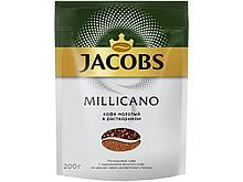 """Кофе растворимый Jacobs Monarch """"Millicano"""", 200 гр, мягкая упаковка"""