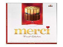 """Конфеты шоколадные """"Merci"""", ассорти, 250 гр"""