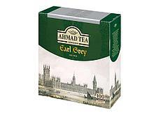 Чай AHMAD Earl Grey (с бергамотом), черный 100 пакетиков