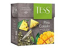 """Чай Tess """"Pino Colada"""" зеленый фруктовый, 20 пакетиков"""