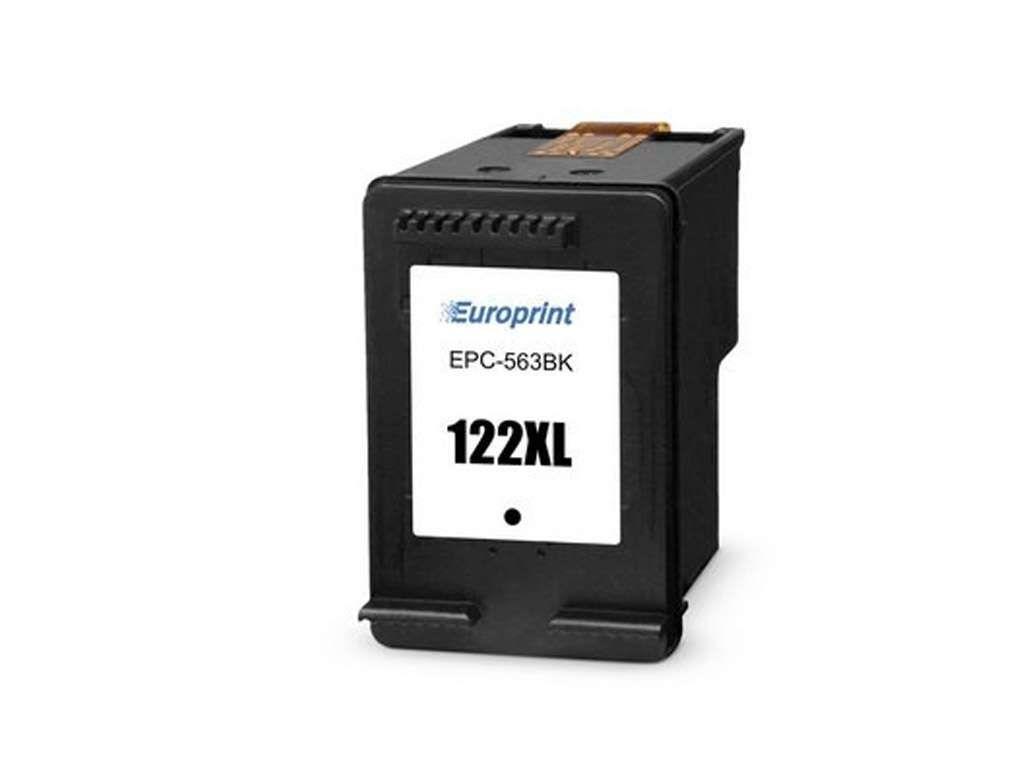 Картридж струйный EUROPRINT для HP e28496122xl (EPC-563BK) черный