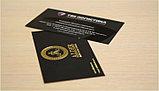 Визитки на пластике Пластиковые визитки визитки на пластике в Алматы  изготовление пластиковых визиток, фото 4