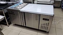 Cтол холодильник для пиццы с Гастроемкостью 1500*80*80