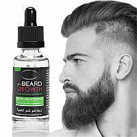 Масло для роста бороды и волос Beard growth.