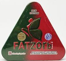 Капсулы для похудения Fat zorb треугольник
