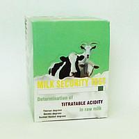 Тест на титруемую кислотность и PH молока Милк Секьюрити II (Milk Security II) (600 тестов)
