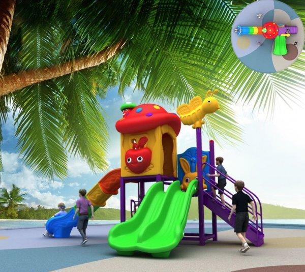 Детский уличный игровой комплекс . Игровая площадка.