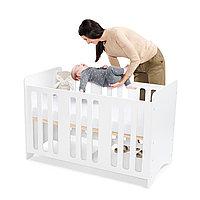 Детская кроватка STELLO White (Kinderkraft, Германия)