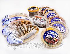 Комплект оборудования для нарезки, фасовки и упаковки рыбных пресервов ИПКС-074, 1000 банок/ч