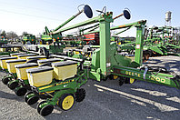 Сеялка John Deere 7200 16 рядов с сухими удобрениями бу из США