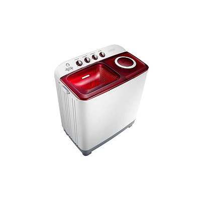 Стиральная машина полуавтомат REBUS REB TGR 110FP Бело-красный
