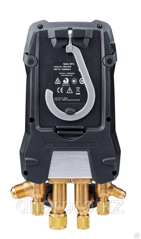 Цифровой манометрический коллектор Testo 557s комплект 1 в кейсе - фото 4