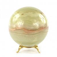 Шар камень оникс 10 см