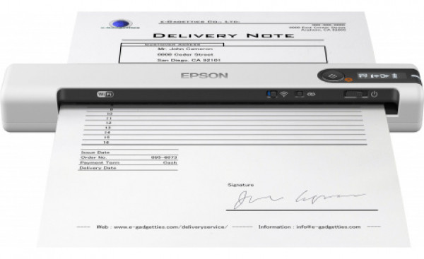 Мобильный сканер Epson WorkForce DS-80W