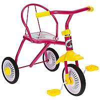 """Велосипед трехколесный Micio TR-311, колеса 8""""/6"""", цвет розовый(3871497)"""