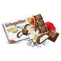 Молочный шоколад Schogetten BOWLS Poppy Seed Vanilla 100гр (15 шт. в упаковке)