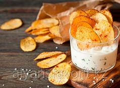 Комплект оборудования для производства хрустящего картофеля (чипсов) и картофеля фри ИПКС-0602, 50 кг/ч
