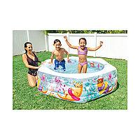 Детский надувной бассейн Happy Otter Intex 56493NP,191 x 178 х 53