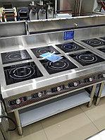 Шестиконфорочная Идукционная плита AM-TCD601N
