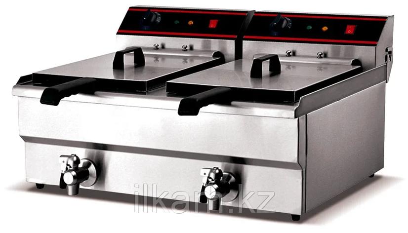 Фритюрница промышленная для фаст фуда ZH-132V, фото 2