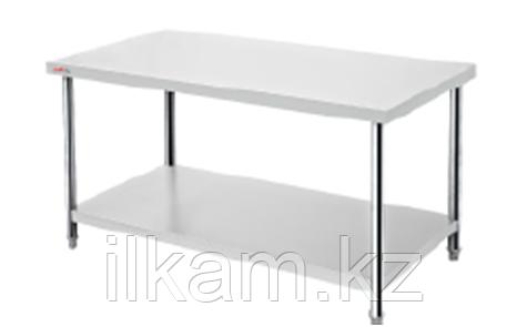 Производственный стол промышленный с полкой 150 см, фото 2