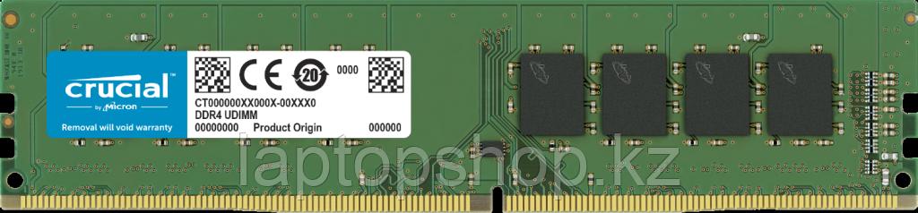 Dimm DDR4 4Gb Crucial 2666MHz CL19 PC4-21300 SRx8 UDIMM 288pin CT4G4DFS8266
