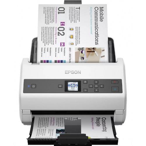Сканер Epson WorkForce DS-970, A4, 600 x 600 dpi, USB, B11B251401