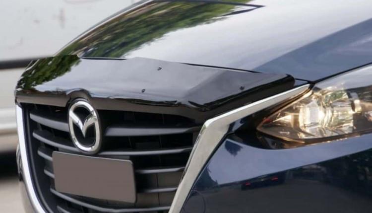 Дефлектор капота Mazda 3 (2013-2016)