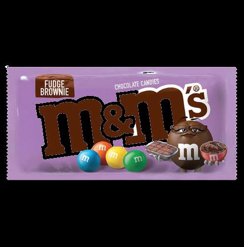 Драже M&M's Fudge Brownie  40 гр (24шт-упак)