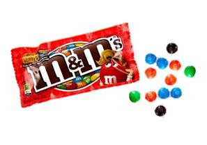 Драже M&M's Peanut Butter 46,2 гр (24шт-упак)