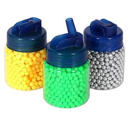 Пульки пластиковые 6 мм., в банке, 1000 шт