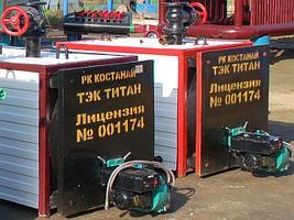 Газовый котел КВЖ-6 площадь м² 6000