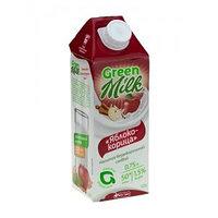 Green Milk напиток соевый Яблоко-корица, 750 мл