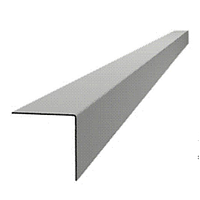Алюминиевый L-профиль-уголок 580 см * 5,0 см * 5,0 см