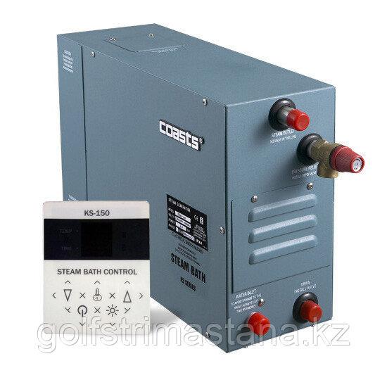 Парогенератор Coasts KSA-90 9 кВт 220В с выносным пультом KS-150