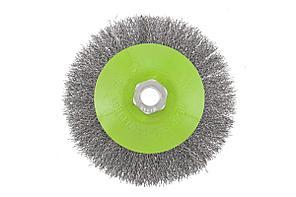 Кордщетка СИБРТЕХ 746167 для ушм 125мм м14 ''тарелка'' витая проволока