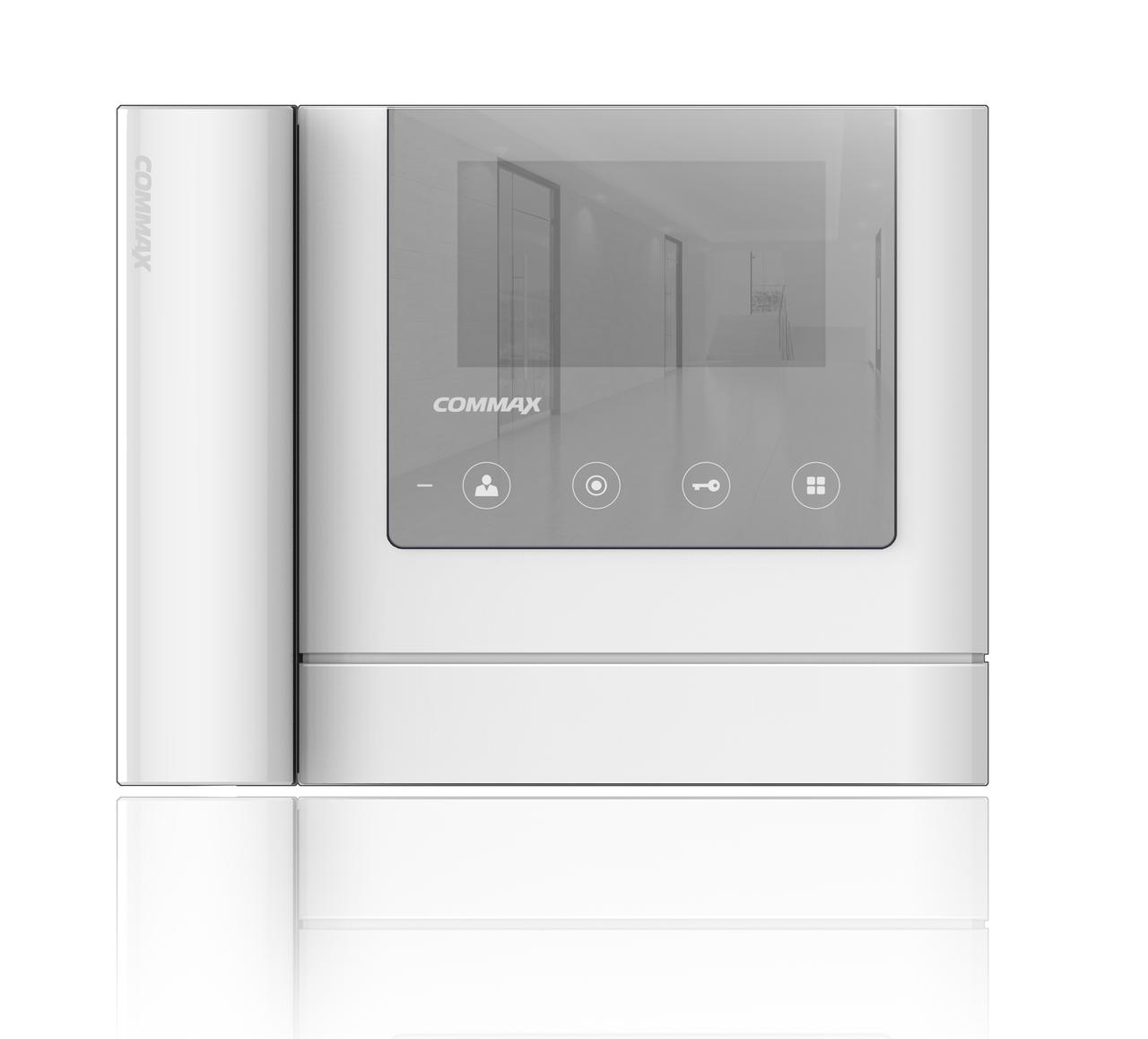 "COMMAX  -  CDV-43MH (WHI) Дизайн ""MIRROR TYPE"" - Монитор"