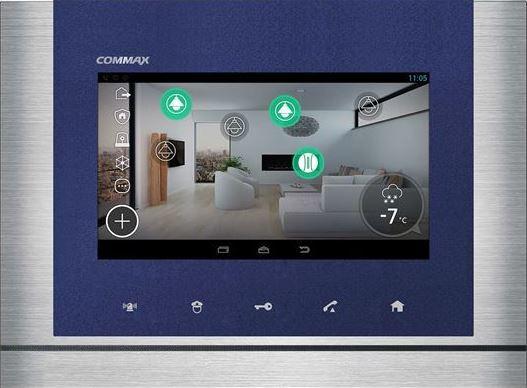 COMMAX -  CAV-70MGX+ Android, технология IoT -  монитор с памятью