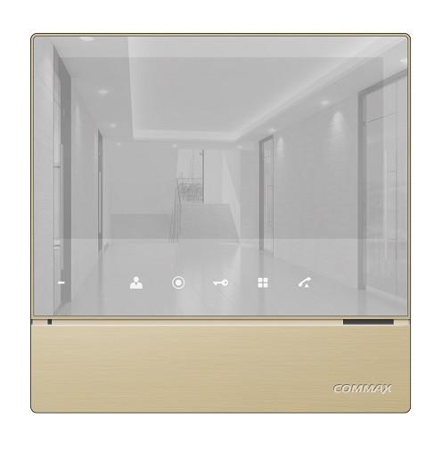 "COMMAX - CDV-70H2(AM) (GOLD) Дизайн ""MIRROR TYPE"" - Монитор"