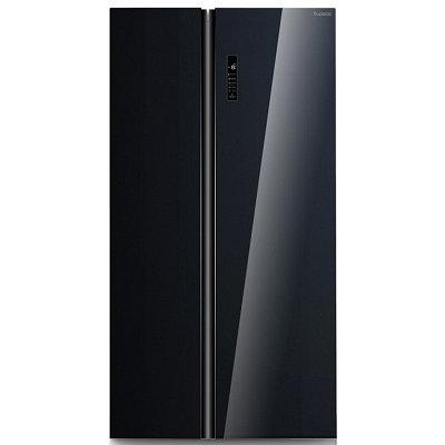 Холодильник Бирюса SBS 587BG (черное стекло)