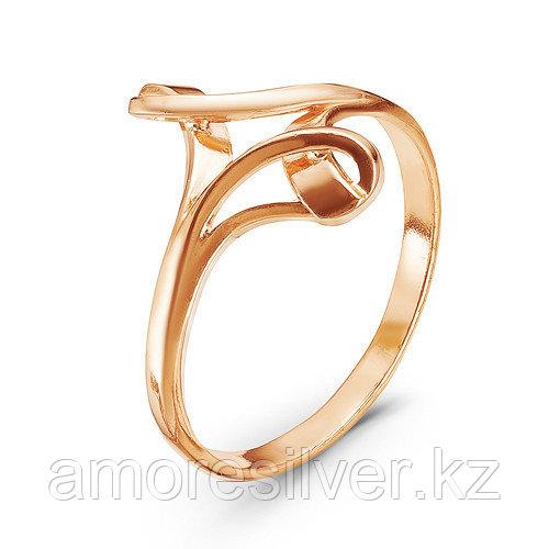Кольцо Красная Пресня серебро с позолотой, геометрия 2308837